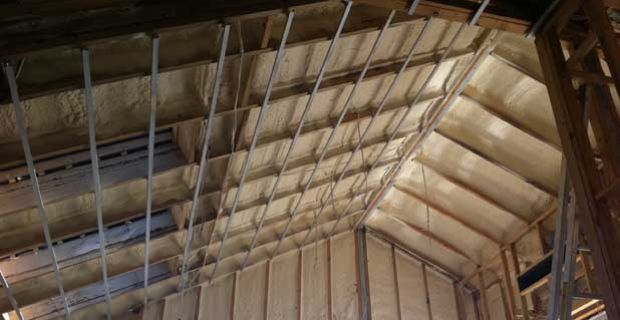 Foam Roofing Insulation