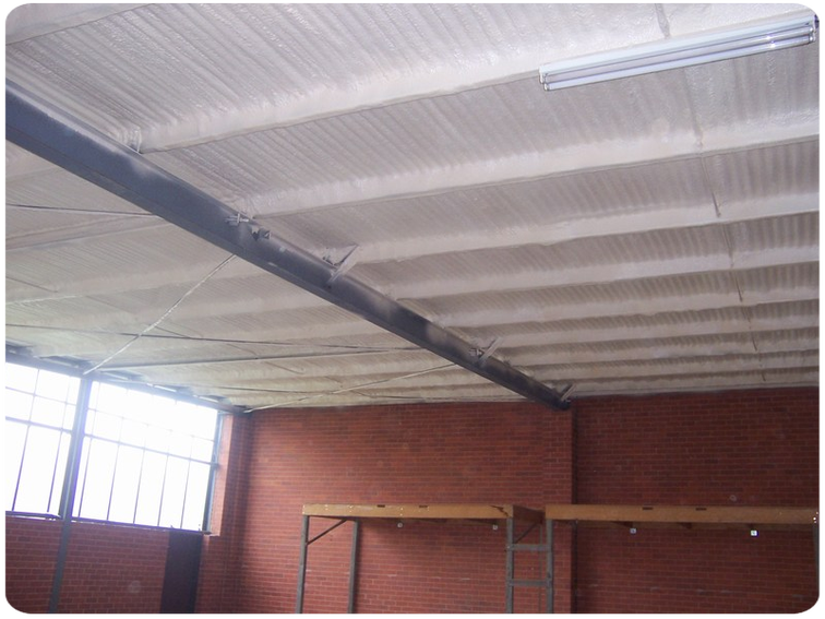 Ceiling Amp Roof Insulation Spray Foam Insulation